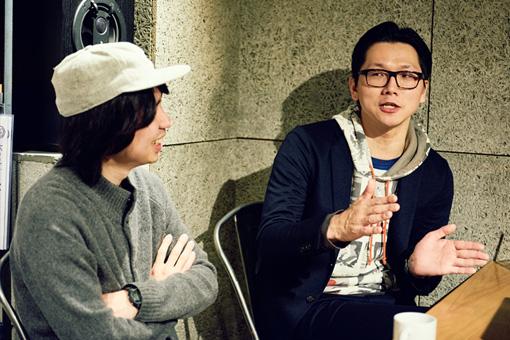 左から:関根卓史、桃野陽介