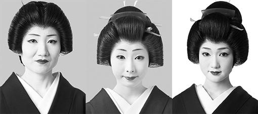 左から:喜美弥、きみ鶴、寿々女