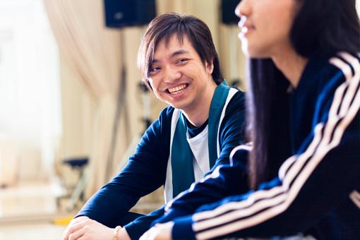 左から:三浦大知、Seiho
