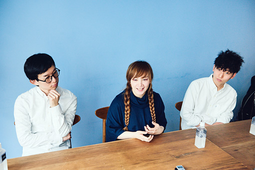 左から:たかきひでのり、sayoko NAGAMUU、水井涼佑