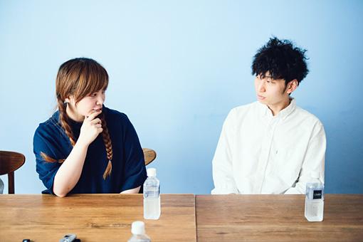 左から:sayoko NAGAMUU、水井涼佑