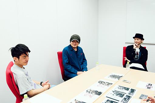 左から:川橋勇紀、shichigoro-shingo、上田剛士