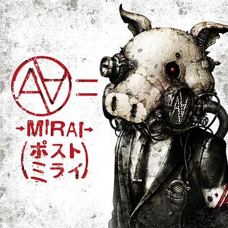 """AA=""""→MIRAI→(ポストミライ)""""ジャケット"""