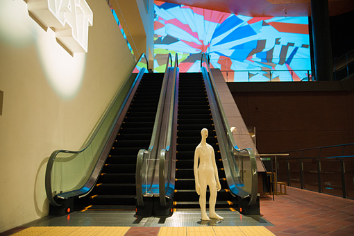 『KAAT突然ミュージアム2016』展示イメージ 藤原彩人 ※実際には別の場所で展示されます