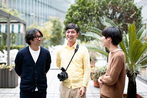 左から:藤田一浩、川島小鳥、奥山由之