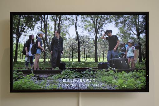 『西京人―西京は西京ではない、ゆえに西京は西京である。』展示風景