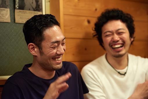 左から:中村勘九郎、丸尾丸一郎