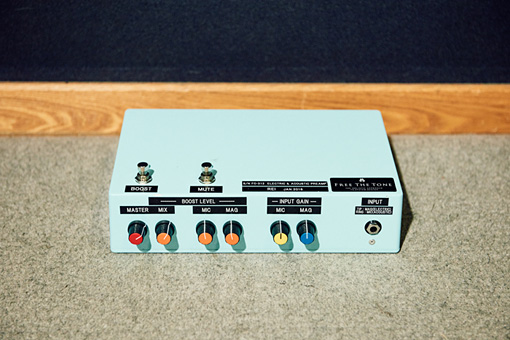 "Free The Tone「Custom Made Pre Amplifier""BLUBOX""」"
