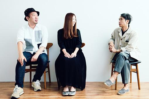 左から:DJ Obake、おのしのぶ、青野賢一