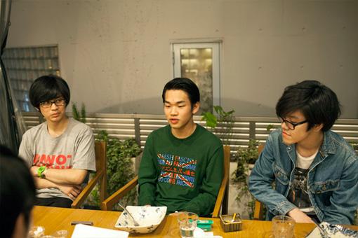 左から:アキム、加藤、フジ