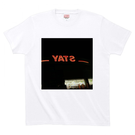 NOT WONK「NOT WONK YATS」Tシャツ