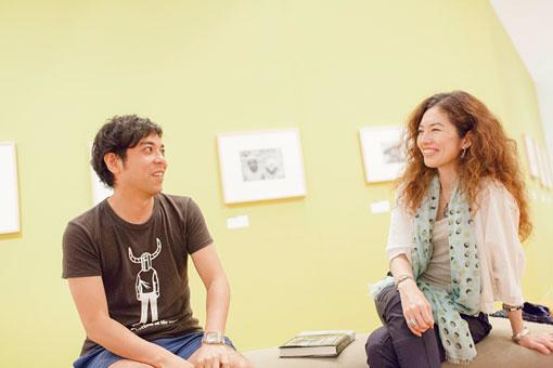 左から:神里雄大、塚田美紀