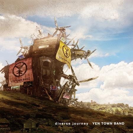 YEN TOWN BAND『diverse journey』通常盤ジャケット