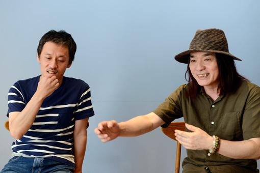 左から:西川弘剛、直枝政広