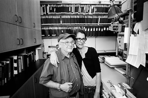 左から:ブルース・デビッドソン、シェリル・ダン / 『フォトグラファーズ・イン・ニューヨーク』 ©2013 Alldayeveryday