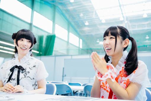 左から:相沢梨紗、古川未鈴