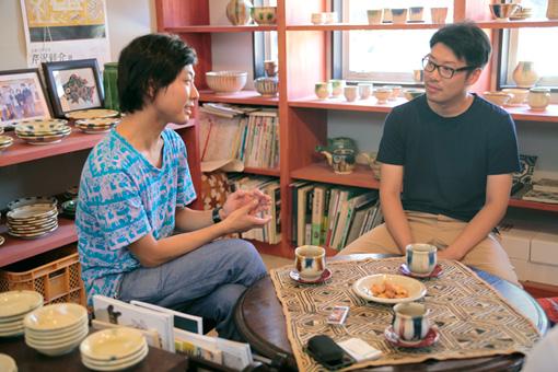 左から:服部浩之、水野雄介