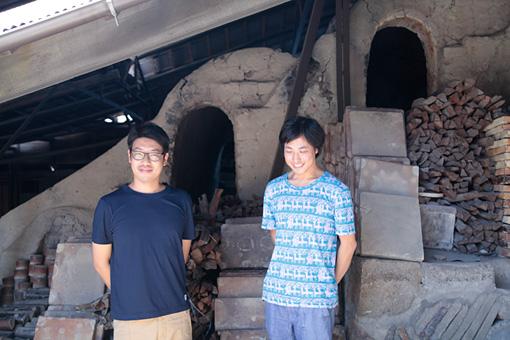 左から:水野雄介、服部浩之