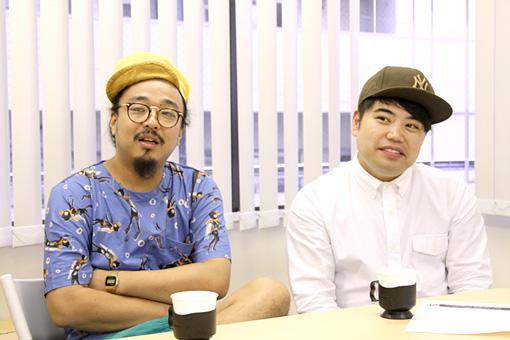 左から:梅本浩亘、田中佑司
