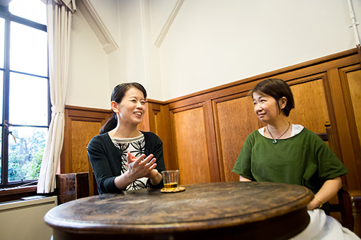 左から:宮永愛子、林洋子