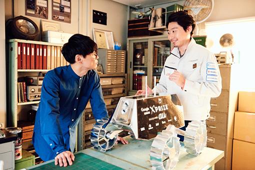 左から:山口一郎、袴田武史