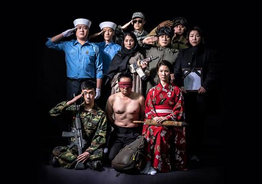 パク・グニョン『哀れ、兵士』メインビジュアル Photo: Gang Mool Lee  c Namsan Arts Center