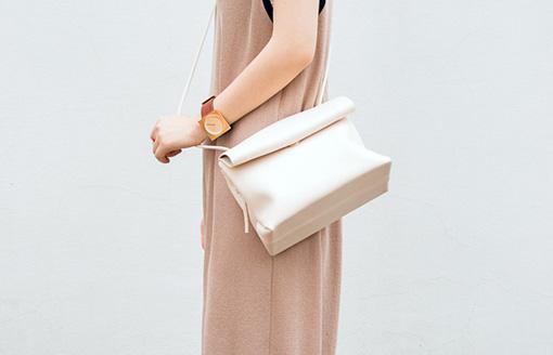 北京のバッグブランド「Guliang」はシンプルで長く使えるデザイン。日本円で約6,420円。
