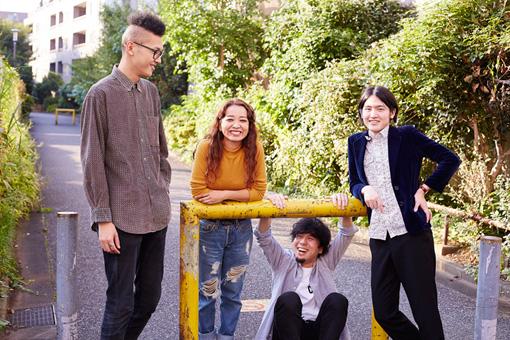 左から:村山努、黒田秋子、彦坂玄、真田徹