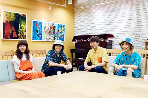 左から:池田智子、原田茂幸、森夏彦、諸石和馬