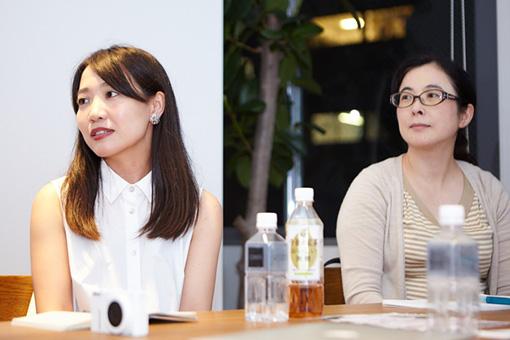 左から:TERAKKOの榎田さん、三浦さん