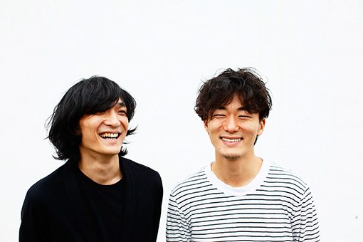 左から:石崎ひゅーい、松居大悟