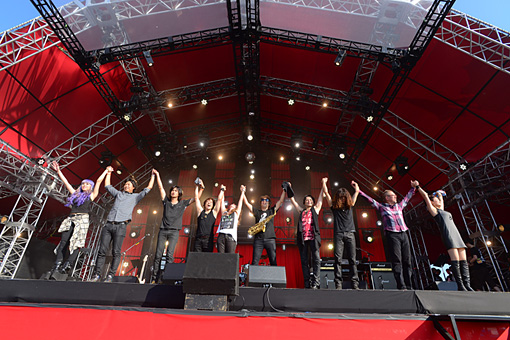 『RISING SUN ROCK FESTIVAL 2016 in EZO』
