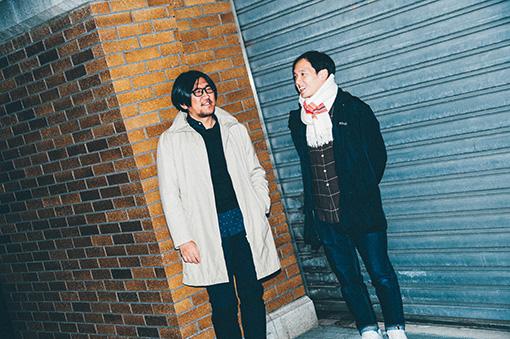 左から:冨田恵一、高城晶平