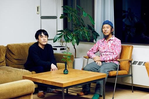 左から:辻川幸一郎、竹内スグル