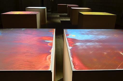 小野耕石『Hundred Layers of Colors』2016 / 企画担当者である森谷が心を動かされたという、小野の作品
