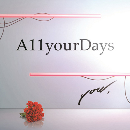 A11yourDays『you,』ジャケット