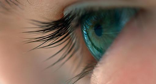 映画『ボヤージュ・オブ・タイム』より。人間の瞳と宇宙の風景がよく似ている / ©Voyage of Time UG (haftungsbeschrankt). All Rights Reserved.