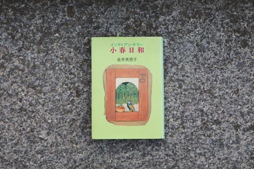 金井美恵子『小春日和』。小説家の叔母のマンションに居候する大学生・桃子を主人公にした物語で「少女小説」と言われている