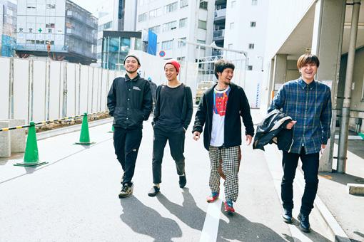 左から:AFRO、織田洋介、武徹太郎、UK