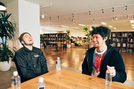 左から:AFRO、武徹太郎