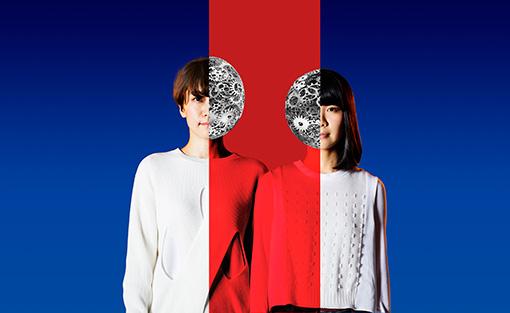 チャットモンチー(左から:福岡晃子、橋本絵莉子)