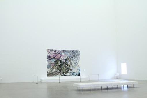 『池田学展 The Pen ―凝縮の宇宙―』金沢21世紀美術館 『誕生』展示風景