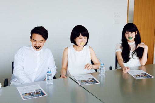 左から清 竜人、第4夫人・清 美咲、第7夫人・清 優華