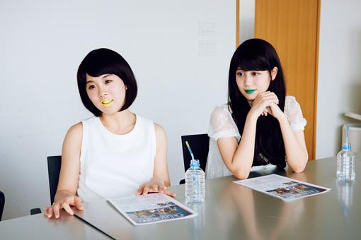左から:第4夫人・清 美咲、第7夫人・清 優華