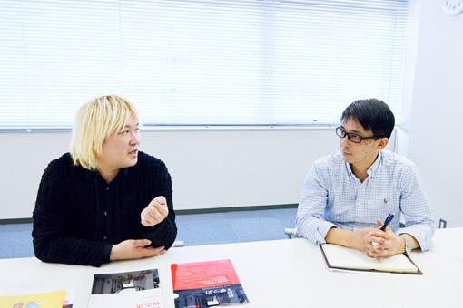 左から:津田大介、加藤寛幸