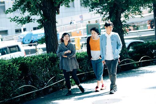 左から:原田郁子、伊藤大助、ミト