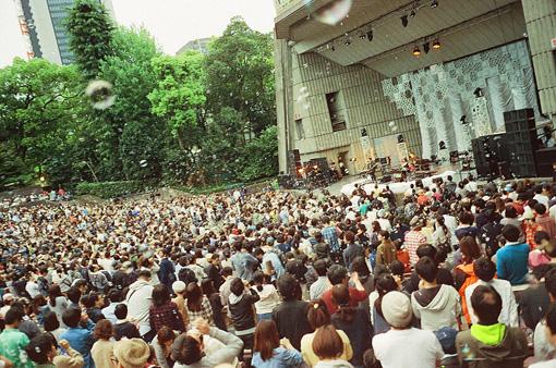 『日比谷野外音楽堂ライブ』(撮影:Yoshiharu Ota)