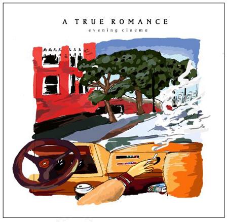 evening cinema『A TRUE ROMANCE』。町田ヒロチカがイラストを担当