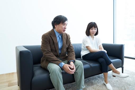 左から:片渕須直、西川美和