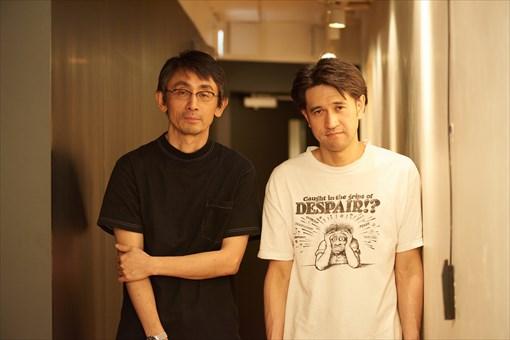 左から:吉田大八、渡邊琢磨